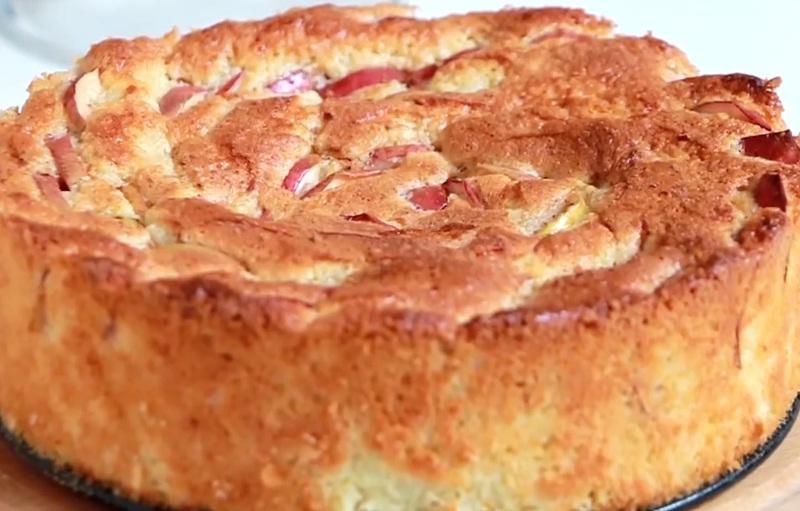 Рецепт шарлотка с яблоками с пошаговым
