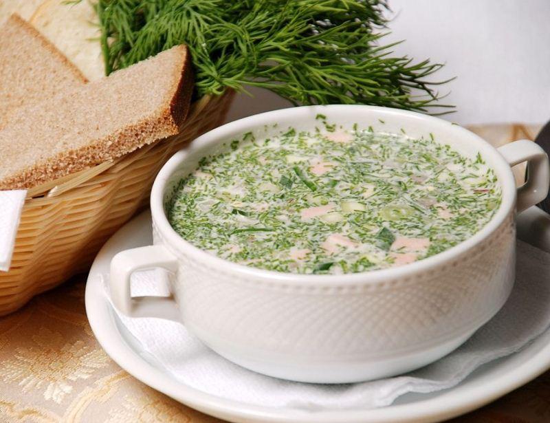 как готовить суп окрошка пошаговый рецепт