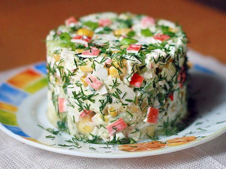 Вкусные салаты пошаговые фоторецепты