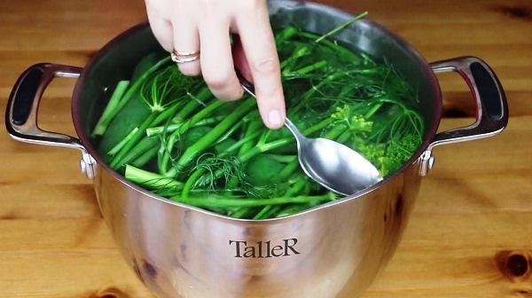 Рецепт быстрого приготовления малосольных