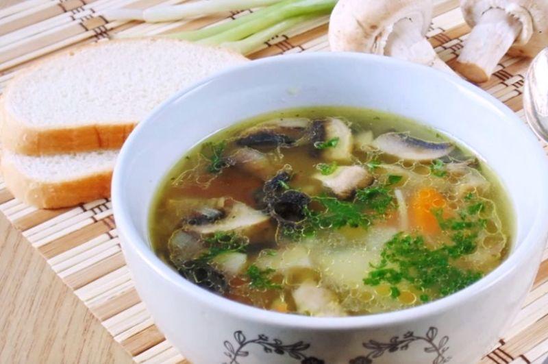 грибной суп простой рецепт с фото была закрытой