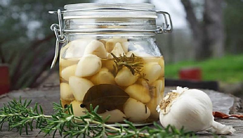 Маринованный чеснок на зиму — рецепты маринования чеснока как на рынке