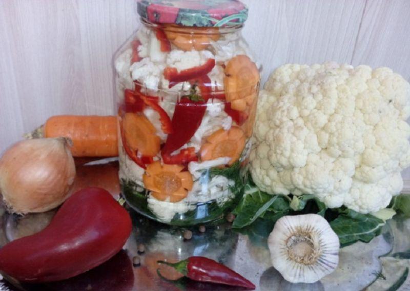 Как приготовить впрок цветную капусту