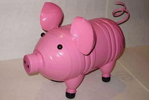 Свинка - копилка своими руками