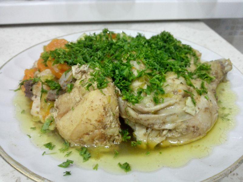 Курица в банке в духовке: рецепты курицы с картошкой и овощами
