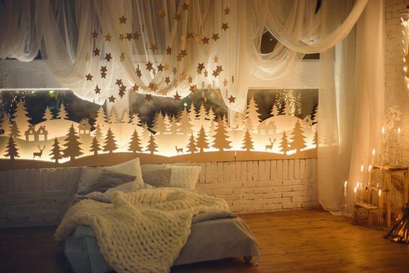 """Оформление комнаты в стиле """"Волшебный лес"""""""