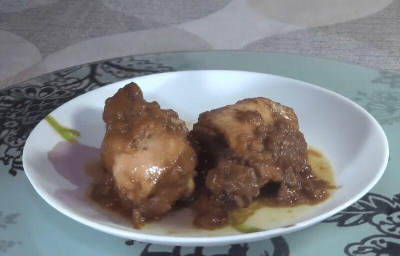 Жаркое из курицы в кастрюле