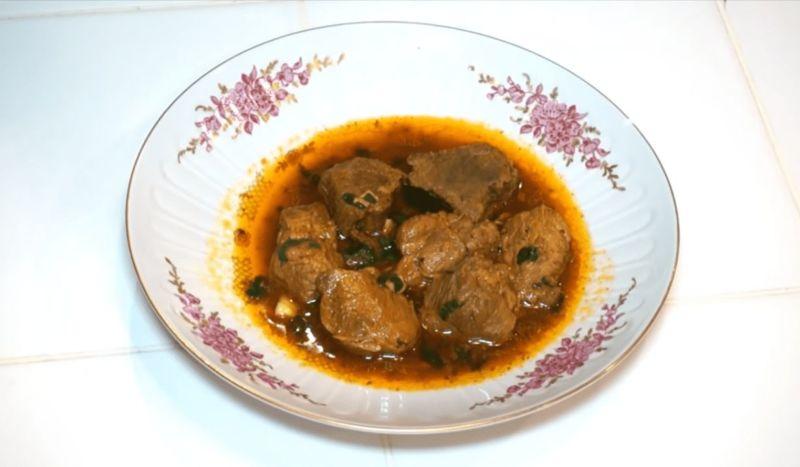 Домашнее жаркое из свинины с картошкой в казане