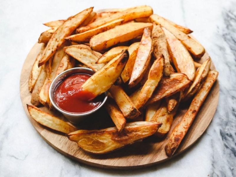 Как делают картофель по деревенски в макдональдсе