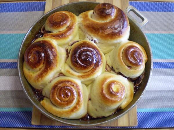 булочки в духовке простые