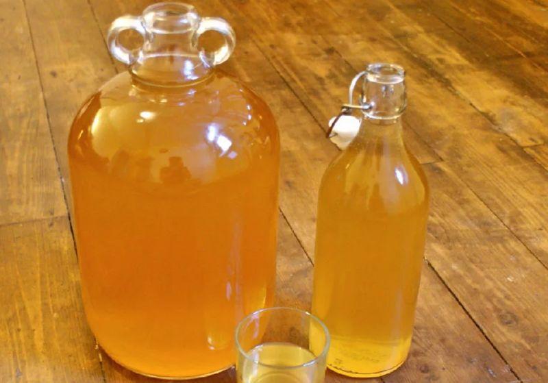 Вино из яблок в домашних с водой