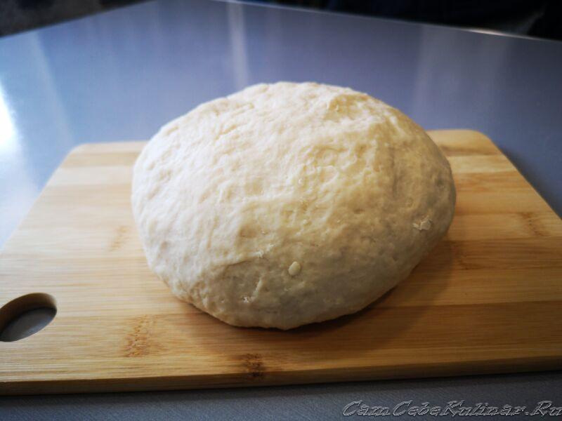 готовое тесто в тепло убрать