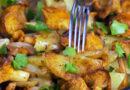 Жареные грибы с картошкой и луком на сковороде — 8 рецептов приготовления